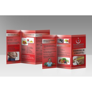 A4 Çift Yön Broşür 5000 Adet (Çift Kırımlı)