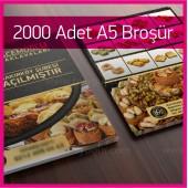 A5 Çift Yön Broşür 2000 Adet
